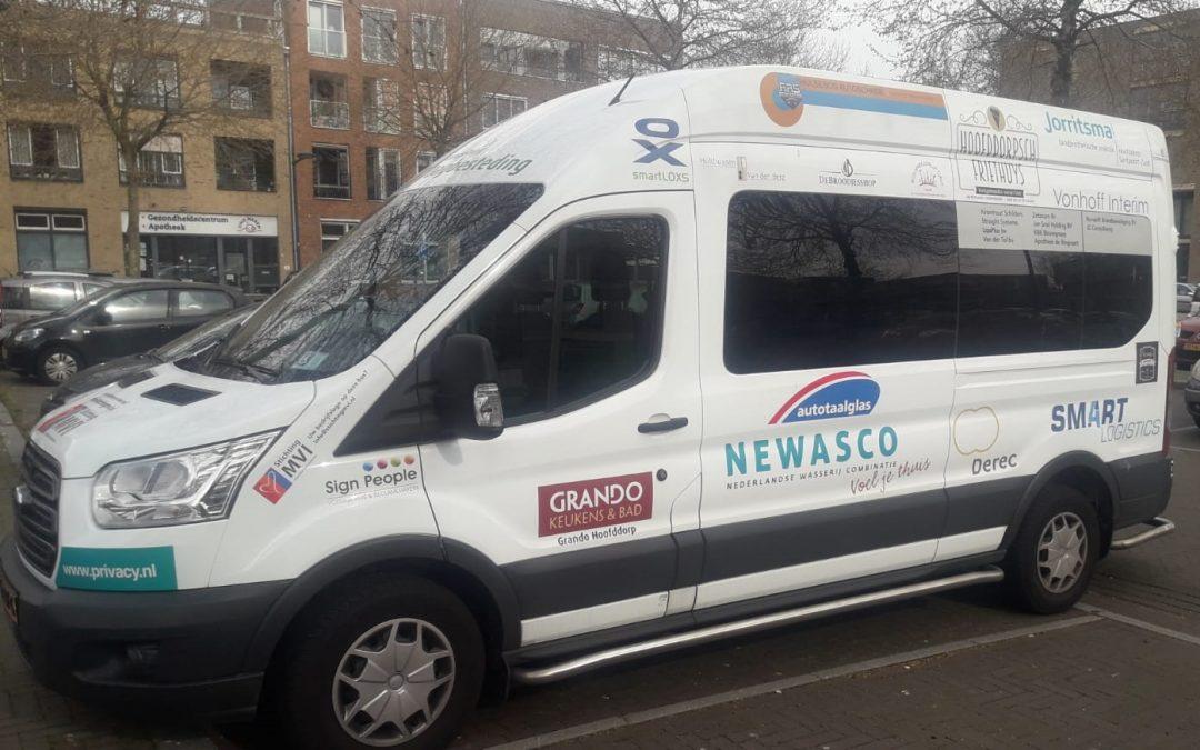 Nieuwe zorgbus voor Amstelring