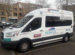 Zorgbus Amstelring sponsor Newasco