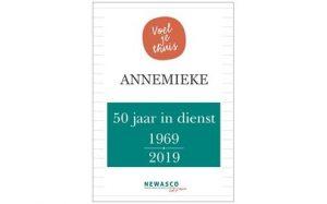 annemieke 50 jaar in dienst