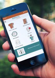 Newasco app voor persoonsgebonden goed