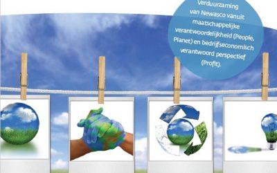 Duurzaamheid telt in de wasserij