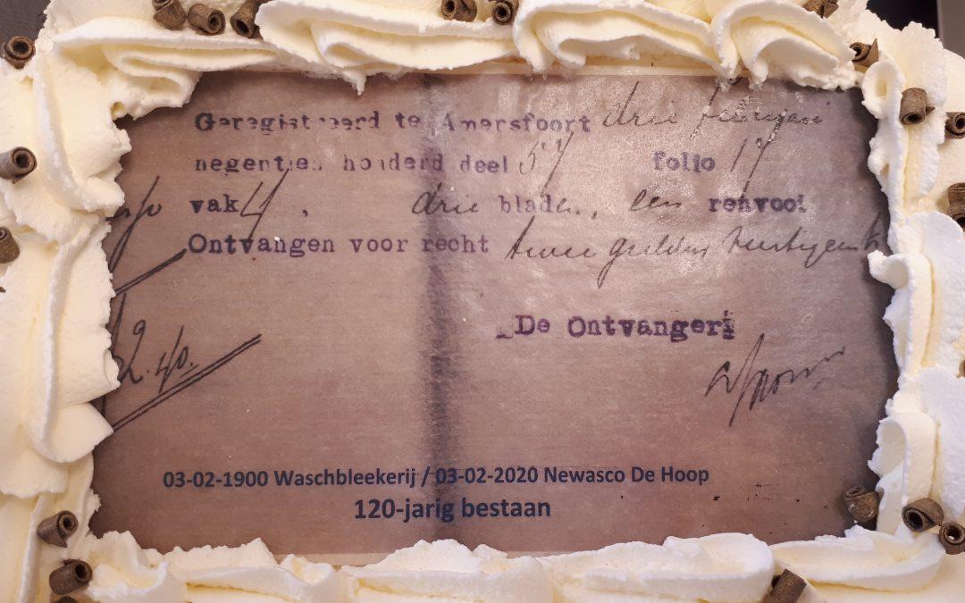 Newasco De Hoop 120 jaar