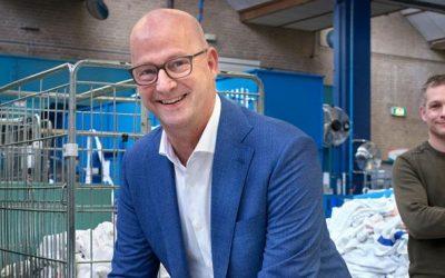 Oudste wasserij van Amersfoort ontwikkelt nieuwste snufjes