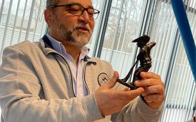 Mehmet 25 jaar in dienst